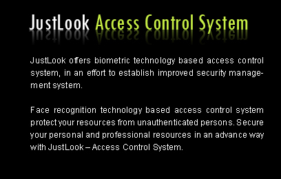 Biometric access control system for better security.